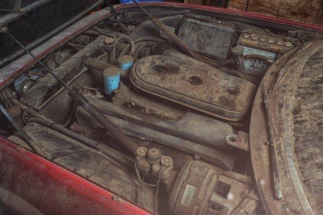 Ferrari Was Found In Abandoned Garage