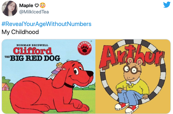 Reveal Your Age Without Numbers