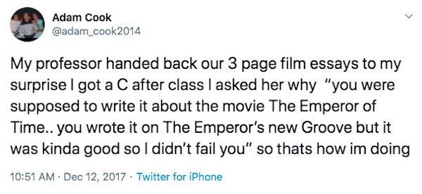 College Professors Humor