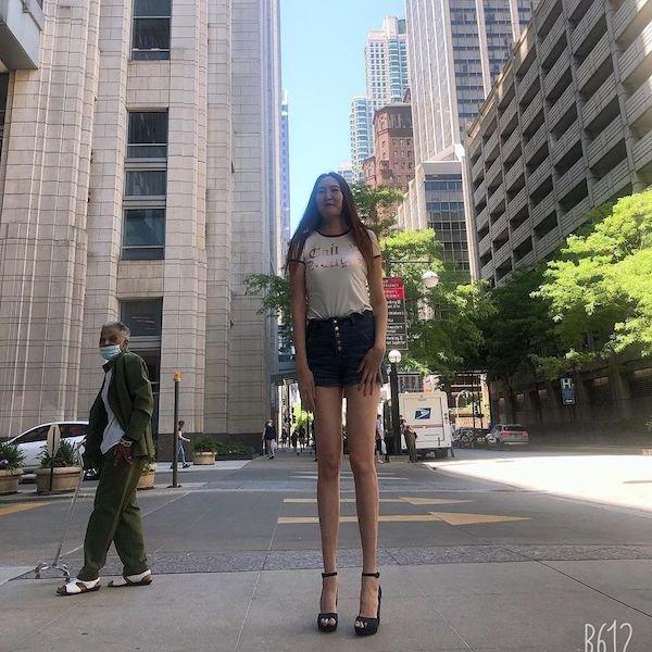 This Girl Has The World's Longest Legs
