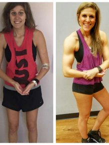 People Show Off Their Body Transformations