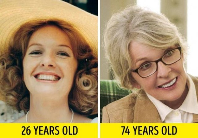 Actors And Actresses: In Their Young Age And Now