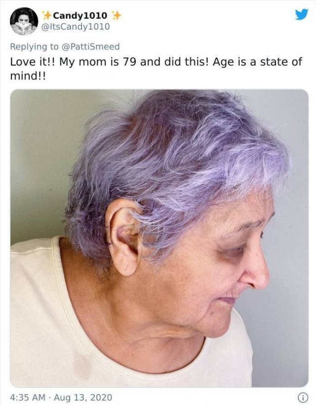 Old People Share Their Unusual Hairstyles