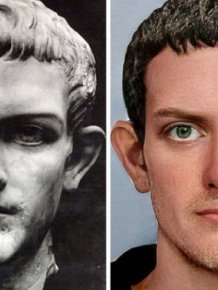 Digital Reconstruction Of Roman Emperor Faces