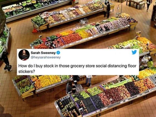 Quarantine Shopping Tweets