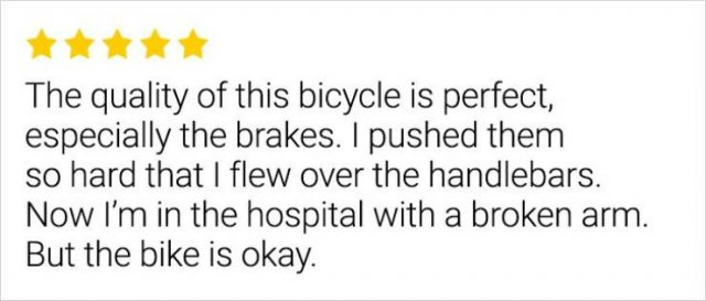 Great Reviews