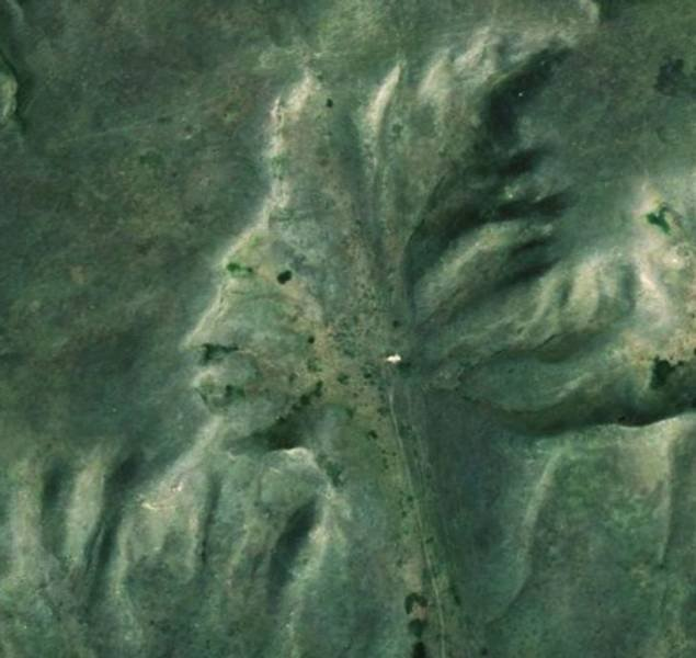 Interesting Places Found Via 'Google Earth'