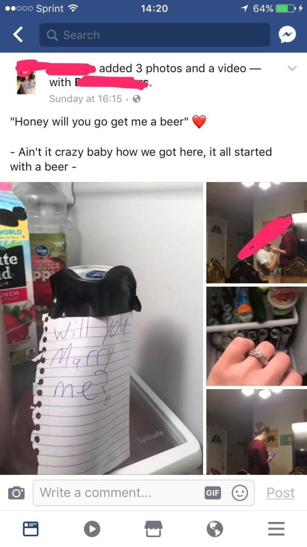 Unusual Marriage Proposals