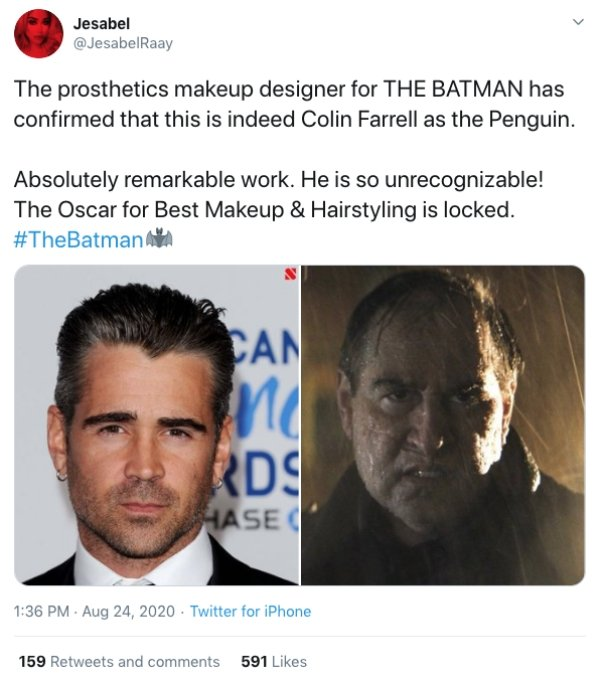 Internet Responds To 'The Batman' Trailer