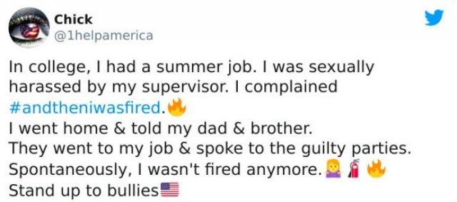 People Tell Why They Were Fired