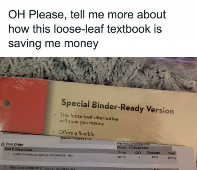 US Students Complain About High Prices For Their Textbooks