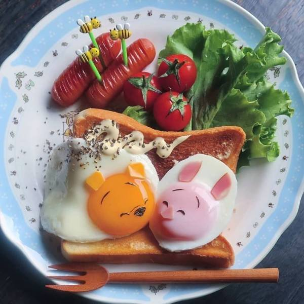 This Japanese Mom Creates Pure Food Art For Her Children