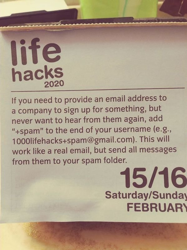 Great Life Hacks