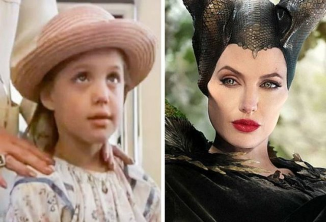 Famous Actors In Their First Movie And Now
