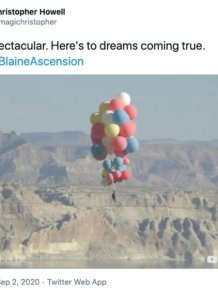#DavidBlaineAscension: Internet Reactions