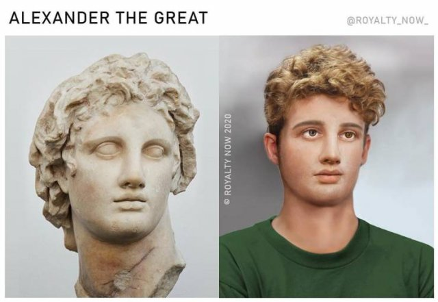 Becca Saladin Shows How Historical Figures Would Look Like In Modern World