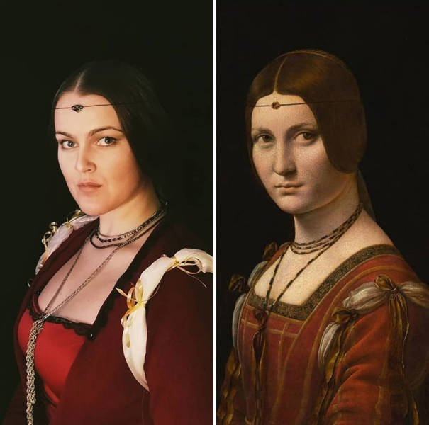 Everyday Classic Painting Recreations