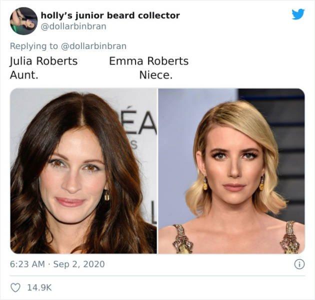 Random Celebrity Relatives