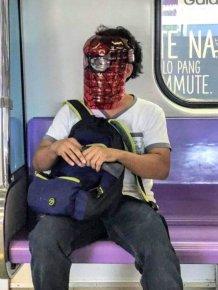 Weird Subway Passengers