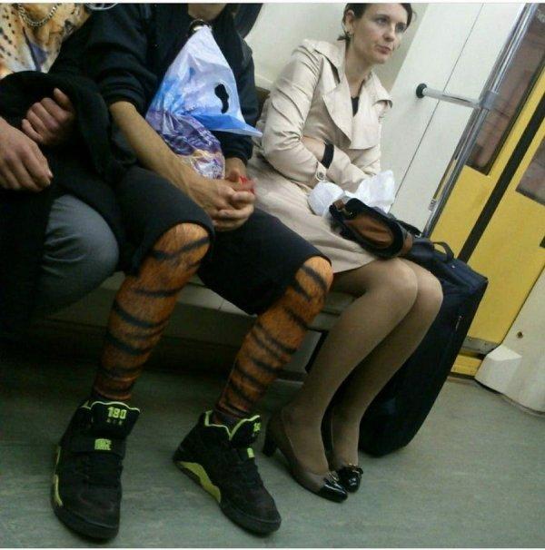 Weird Subway Passengers, part 2