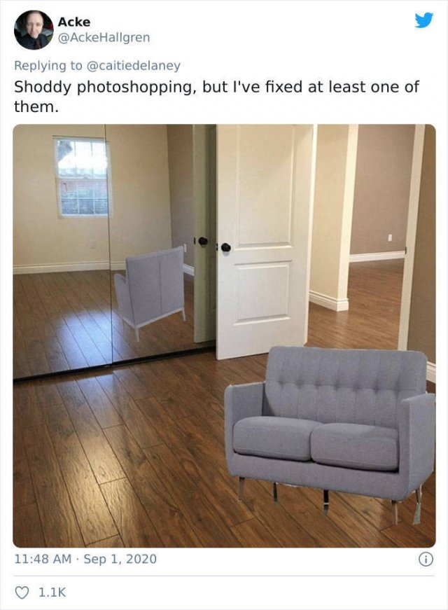 No Photoshop Included In This House Listing