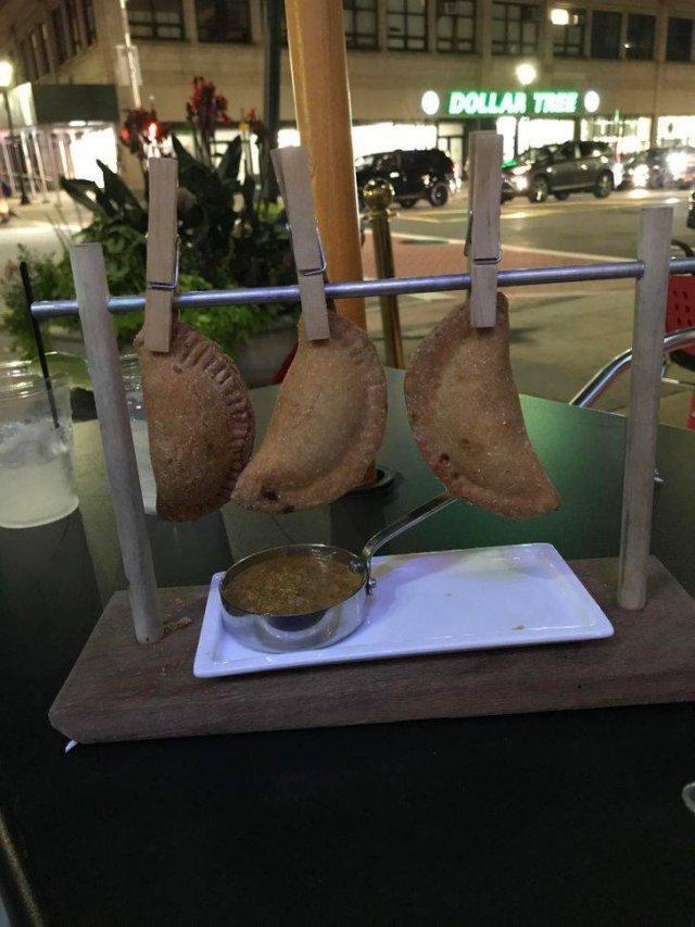 Weird Food Presentation