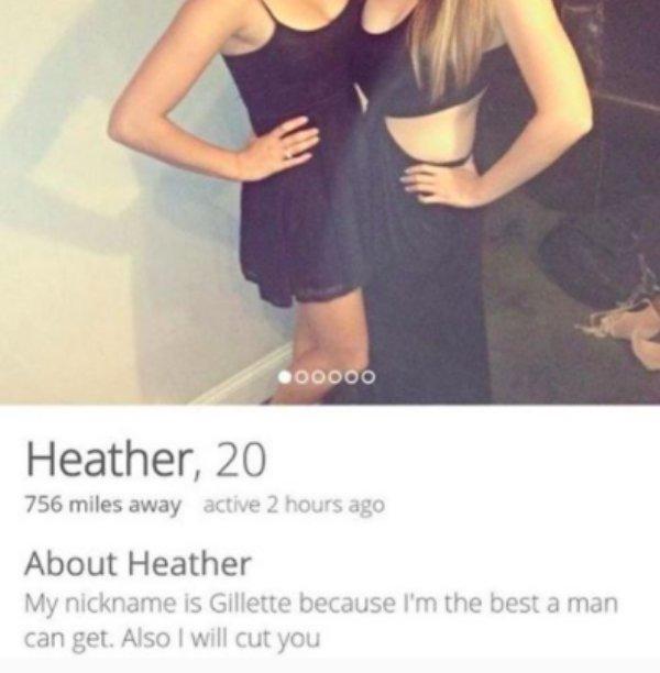 Shameless Tinder People, part 3