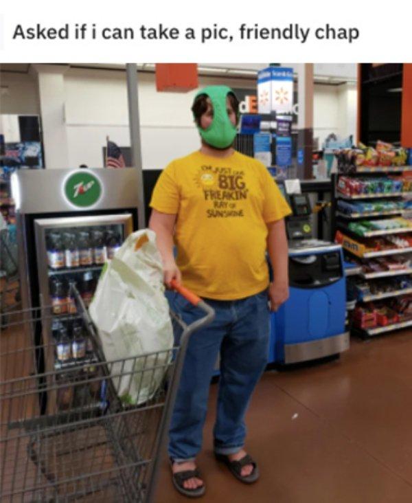 Weird Walmart People