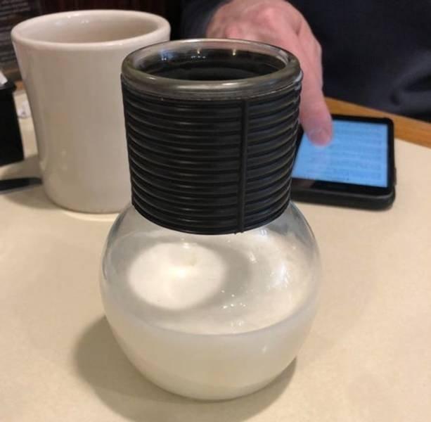 Weird Drinks Serving