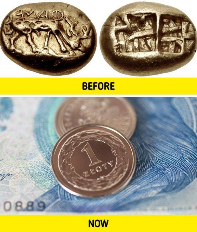 How Common Things Looked Like In Past Times