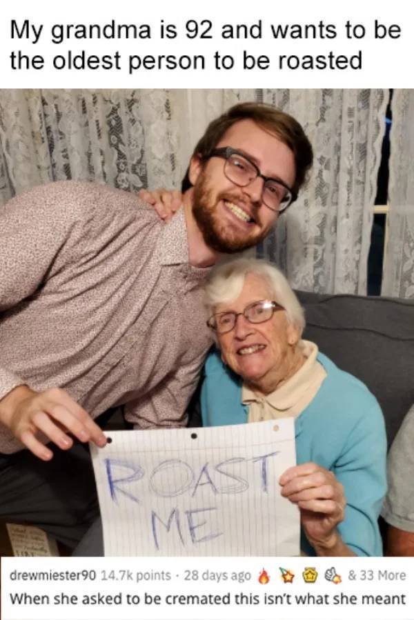 People Ask For Roasted Comments