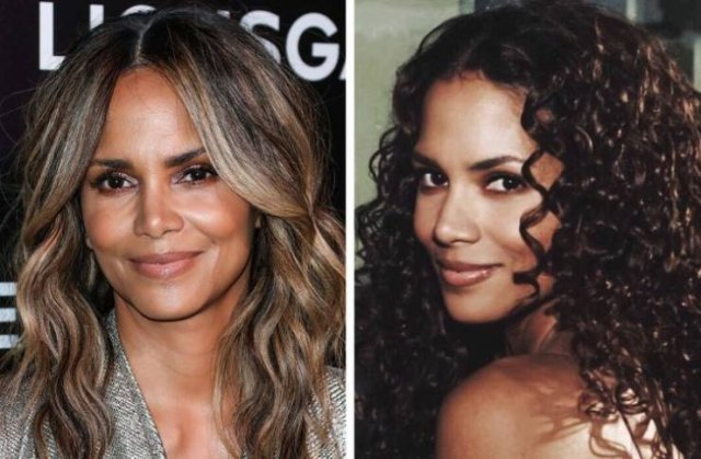 Celebrities With Their Natural Hair