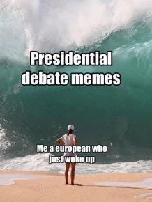 Presidential Debate Memes