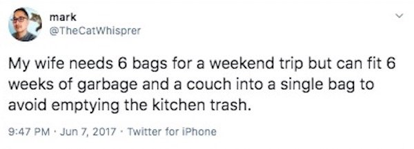 Marriage Tweets About Cleaning