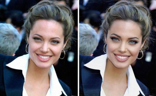How Celebrity Faces Would Look Like According To Modern Beauty Standards