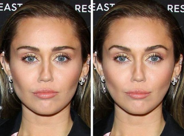 Celebrities Faces Changed To Fit The Golden Ratio Standard