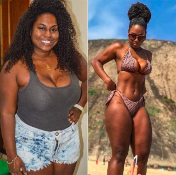 Women Show Off Their Transformations, part 2