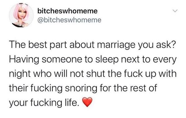Marriage Tweets, part 6