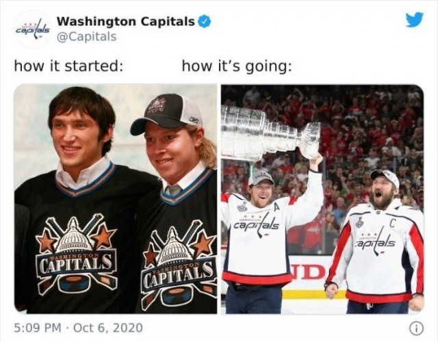 How It Started Vs How It Is Going