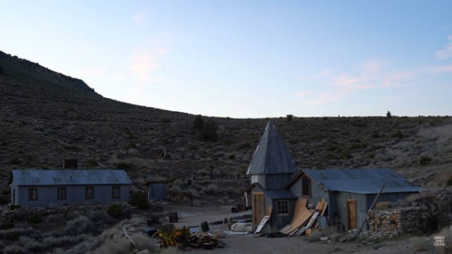 This Guy Bought A $1.4 M Ghost Town And Been Rebuilding It During Isolation