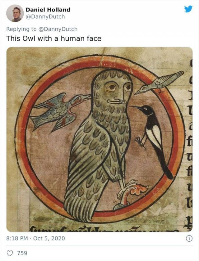 Medieval Animals Paintings