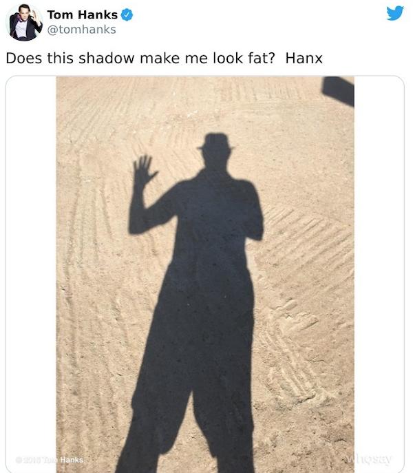Tom Hanks Tweets