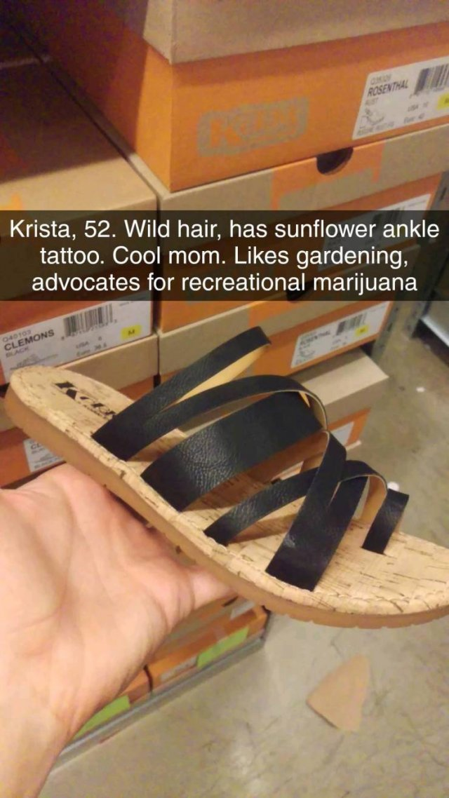 What Shoes Can Tell About It's Owner
