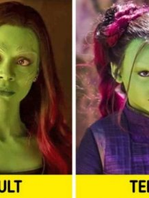 Movie Characters And Their Younger Versions