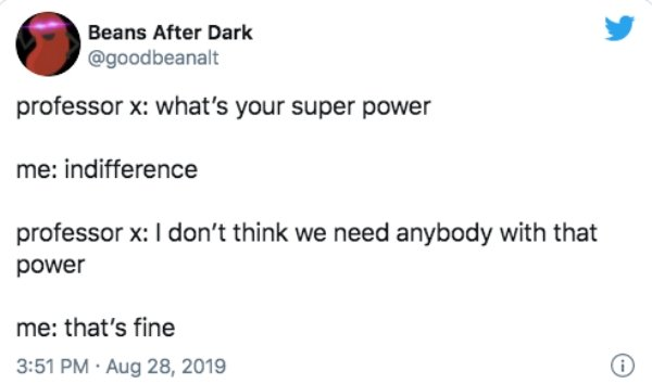 'What's Your Superpower?' Tweets