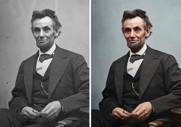 This Artists Restores And Colorizes Photos Of US Presidents