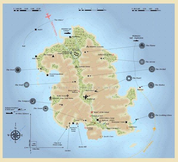 Fictional Places Maps