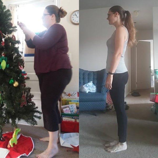 Women Show Off Their Transformations, part 3