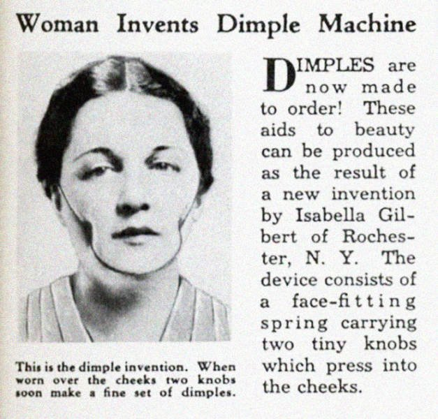 Beauty Gadgets And Services From The Past