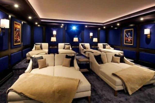 Amazing Home Movie Theaters